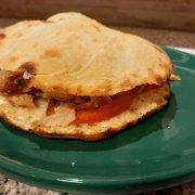 Kebab mit Focaccella