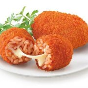 Cheese-rice ball