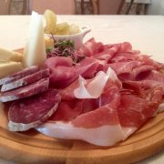 selection of cold cuts and cheeses