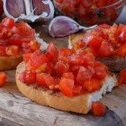 Con salsa de tomate