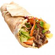 Menú de kebab piadina