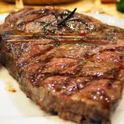 rib of boneless beef (extra € 6)