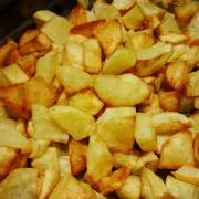 Patata fritta all'aria