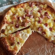 Pizza Patate e wustell