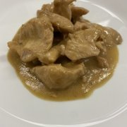 straccetti di pollo in salsa Worcestershire