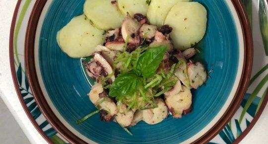 Polpo locale con patate