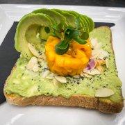 Mango avocado toast