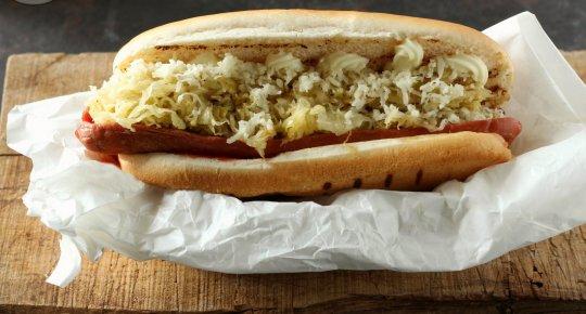 Hot Dog Tirolese